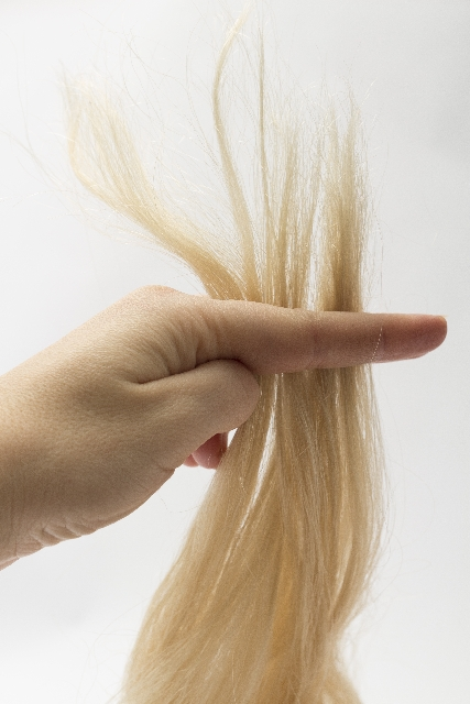 ブリーチで傷んだ髪